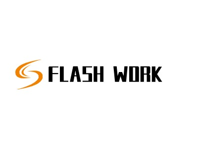 FLASH WORKlogo设计