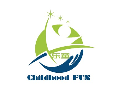 西安Childhood FUNlogo标志设计