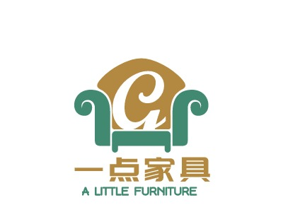 A  LITTLE  FURNITURE logo设计