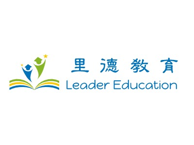 Leader Education logo标志设计