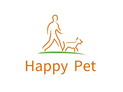 Happy Pet门店logo设计