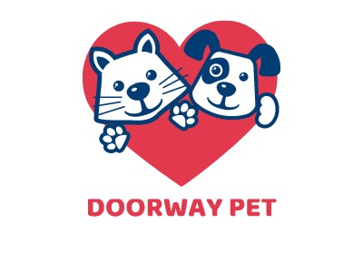 DOORWAY PET门店logo设计