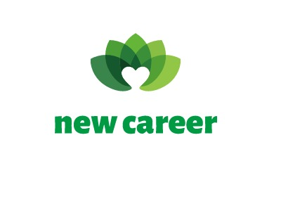 new career  logo标志设计