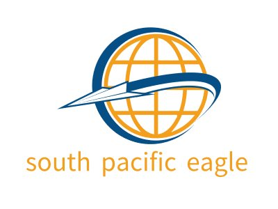 south pacific eagle公司logo设计