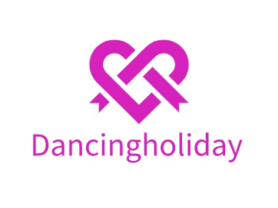 Dancingholiday门店logo设计