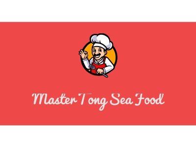 Master Tong Sea Food店铺logo头像设计