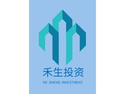 HE SHENG INVESTMENT企业标志设计