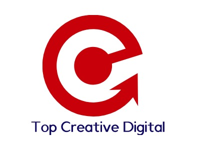 Top Creative Digital公司logo设计