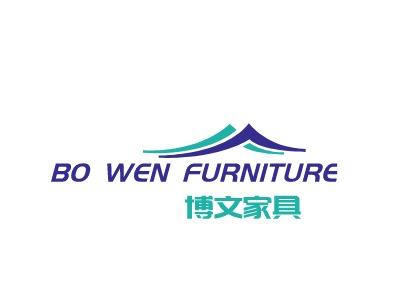 Bo Wen furniture公司logo设计